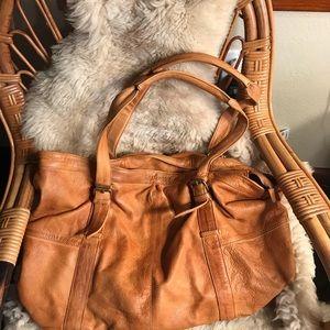 Handbags - Day & mood leather satchel